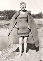 tenue de bain dans les années 20