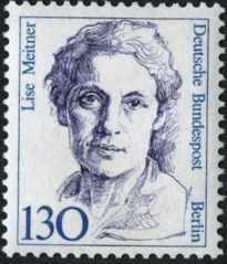 Timbre Lise meitner 109