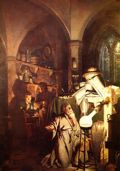 Joseph Wright - Alchemist