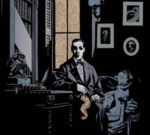 Mike-Mignola-HP-Lovecraft-Portrait
